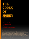 the codex of money
